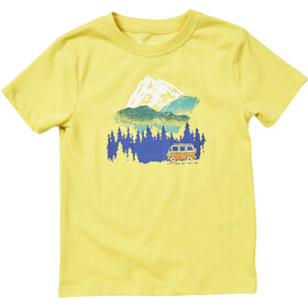 United By Blue Get Away Ride - T-shirt manches courtes Enfant - jaune